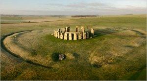 Stonehenge aerial
