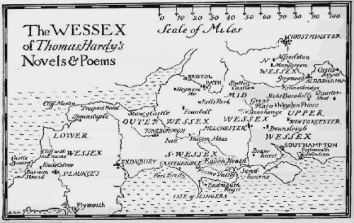 Kingdom of Wessex Map