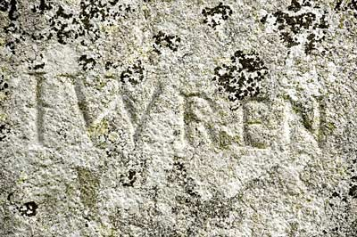 Christopher Wren Grafitti - Stonehenge