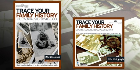 Free guide to tracing your family history