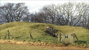 The Long Barrow, known as Hetty Pegler's Tump, could date back as far as 3200BC