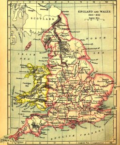 Old England Map