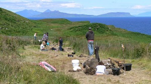 Excavations at the Ardnamurchan Peninsula [Credit: Ardnamurchan Transitions Project]