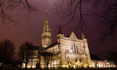 The construction of Salisbury Cathedral was masterminded by William Elias of Dereham, one of the key negotiators of the Magna Carta. Photograph: Greg Funnell for the Guardia