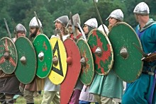 Vikings at Old Sarum Castle