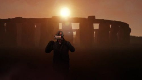 Virtual reality allows new ways to examine Stonehenge's history