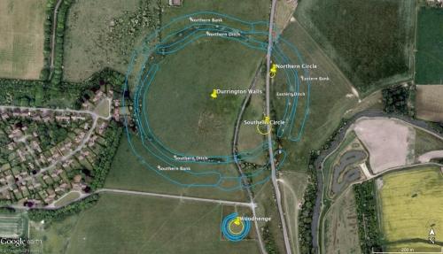 Durrington Walls Aerial View